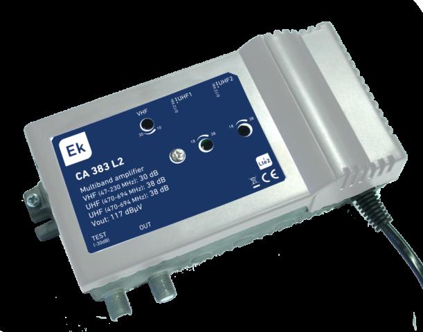 CENTRAL 3 IN VHF/UHF/UHF. 30DB/2X38DB.117DB?V.