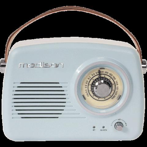 RADIO VINTAGE AUTONOMA CON BLUETOOTH & FM 30W