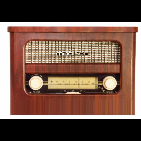 RADIO VINTAGE AUTONOMA CON BLUETOOTH & FM 10W