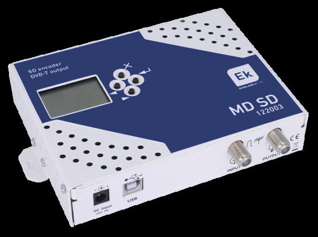 MODULADOR DIGITAL A/V SD COFDM CON MIX TER