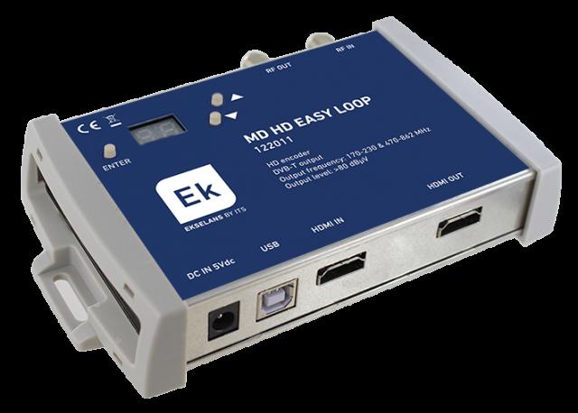 MODULADOR DIGITAL HD COFDM + LOOP HDMI + MIX TER