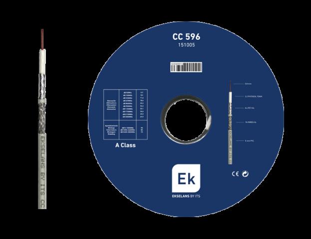 CABLE COAX. 5MM CCS. 96 HILOS. PVC CPR ECA