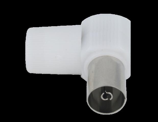 CONECTOR IEC 9,5MM HEMBRA 90º PARA CABLE 6,6-6,9MM