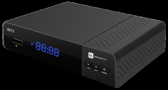 Receptor DVBT2 HD H265