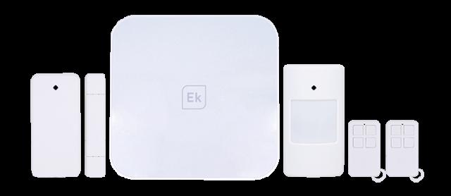 Kit alarma IP / WiFi + GSM + accesorios