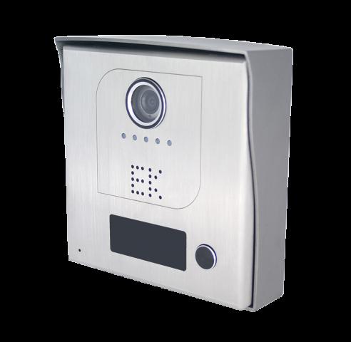 PLACA EXTERIOR INOX VIDEOPORTERO INDIVIDUAL RFID