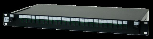 Bandeja telesc. 24p con SC/APC sin aletas
