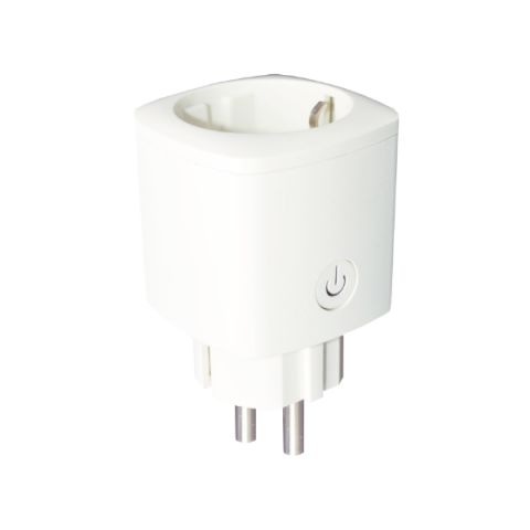 ENCHUFE INTELIGENTE SMART 16A WIFI BLANCO