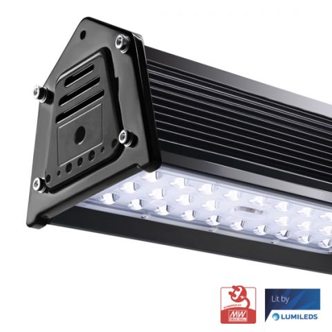 50W   CAMPANA LED LINEAL INDUSTRIAL 130LM/W