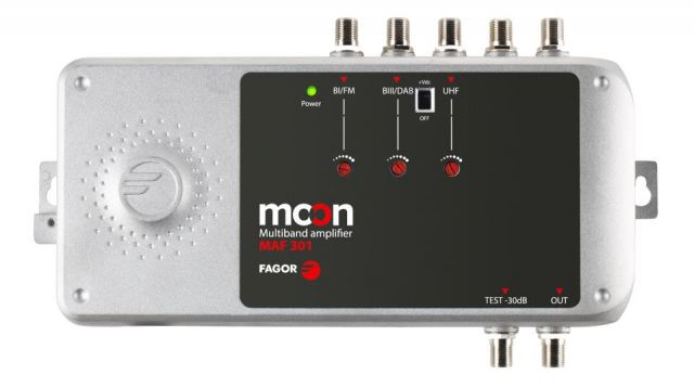 MAF411 AMPL. 2U/SAT 45dB