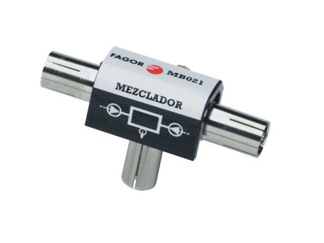 MB 021, Mezclador-Distribuidor 2 vías, 2 hembra, 1