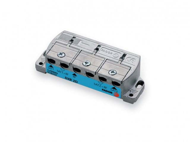DXR 2D +, Distribuidor Combinador para cabecera IC