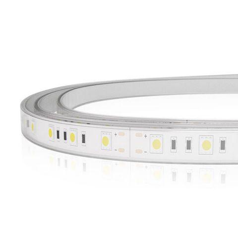 TIRA LED 24V 72W 300LED/5MTS IP67 SILICON 6500K